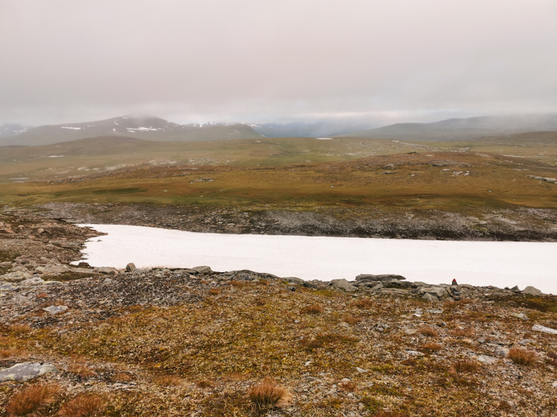 A last look back towards the Arctic Circle
