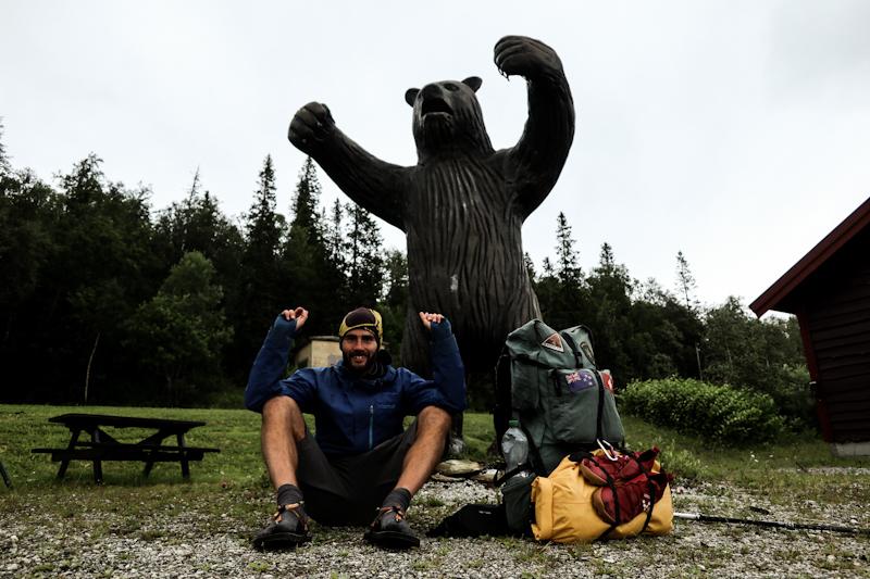 Addendum from yesterday. Skorovatn. Bear is still here.