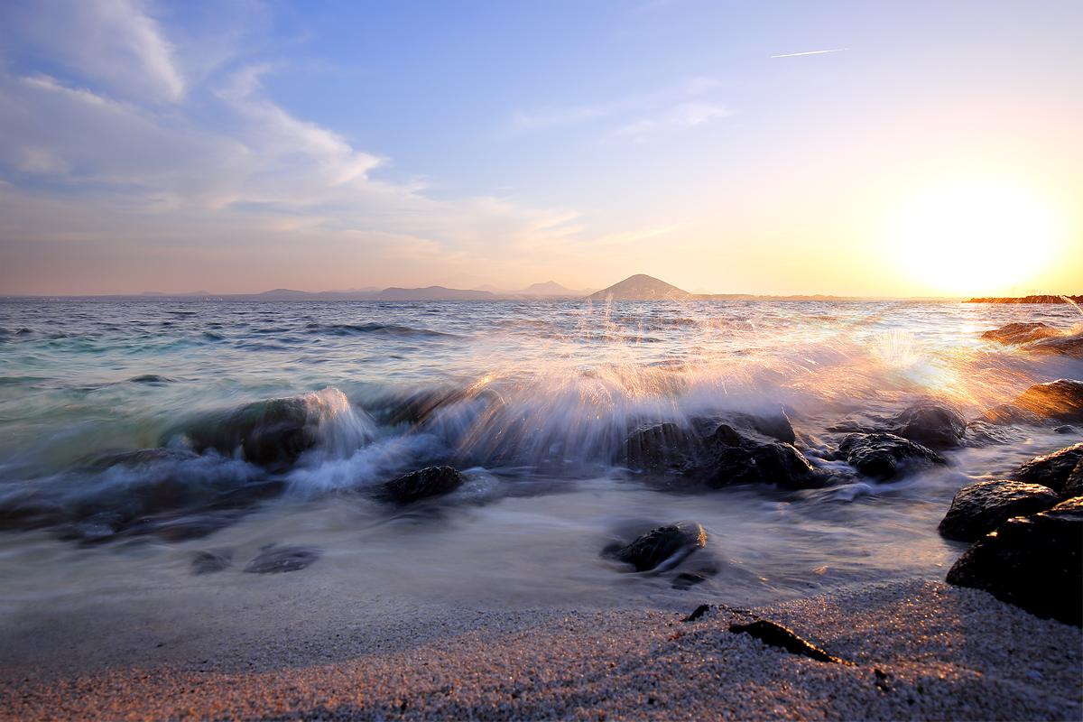 Seobin-baeksa Beach, U-Do, Jeju, Korea