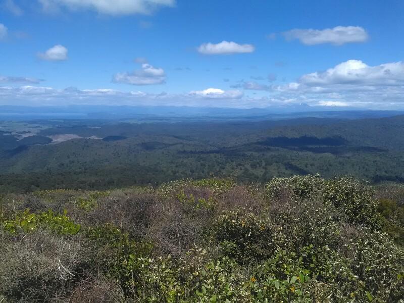 Lake Taupo and Mt Ruapehu