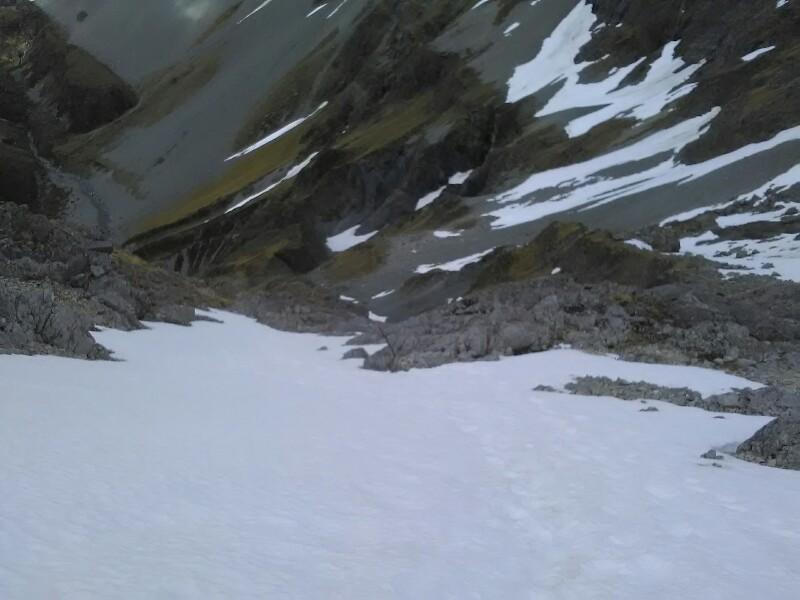 Snowfields...