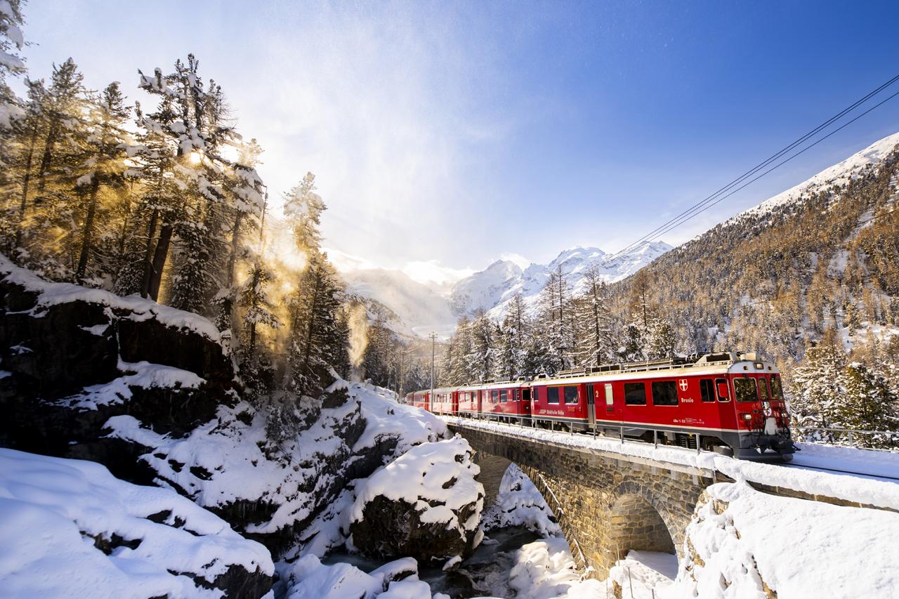 Berninafälle, Switzerland