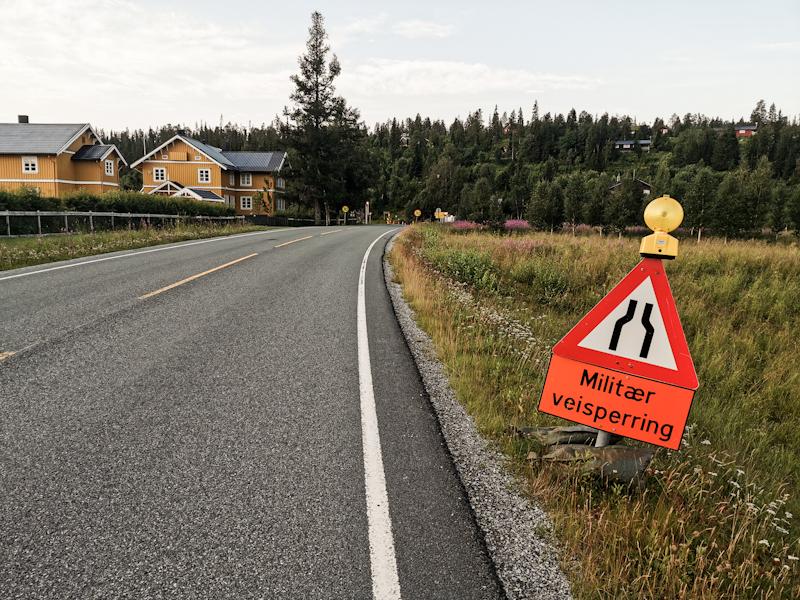 Road block ahead