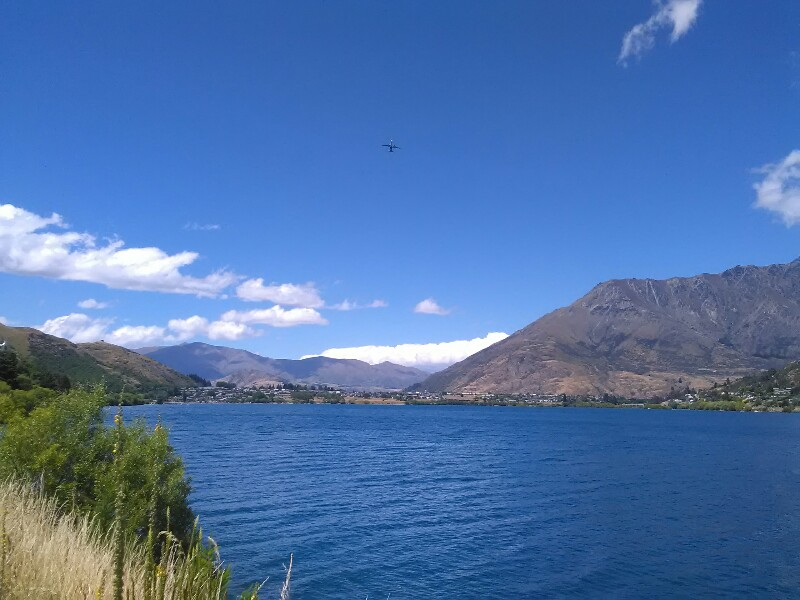 Lake Wakatipu and Frankton