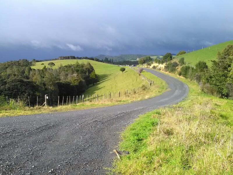 Rain ahead...