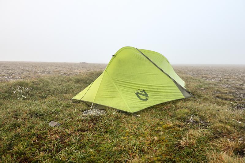 Camping at Nordkapp