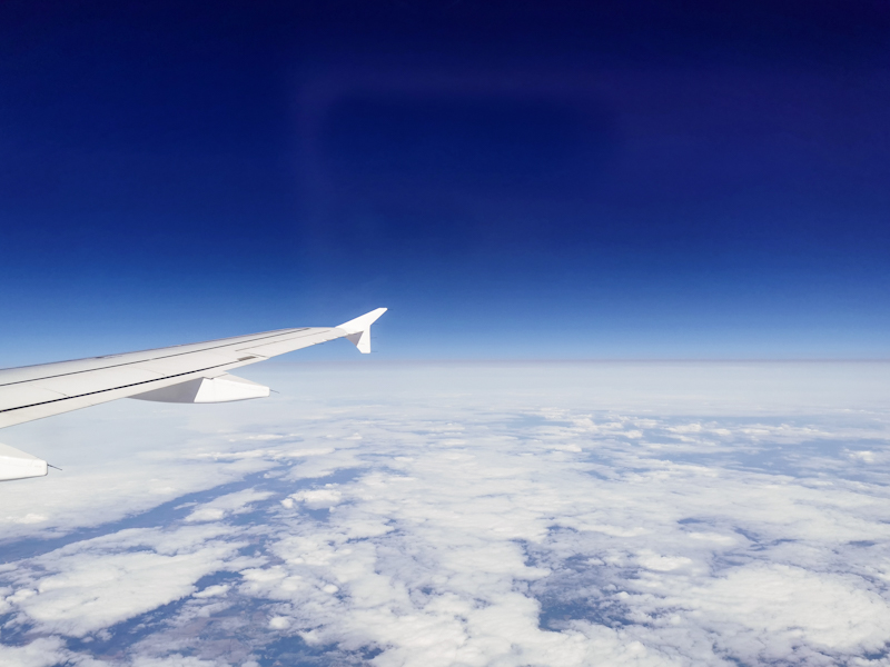 Somewhere over Germany