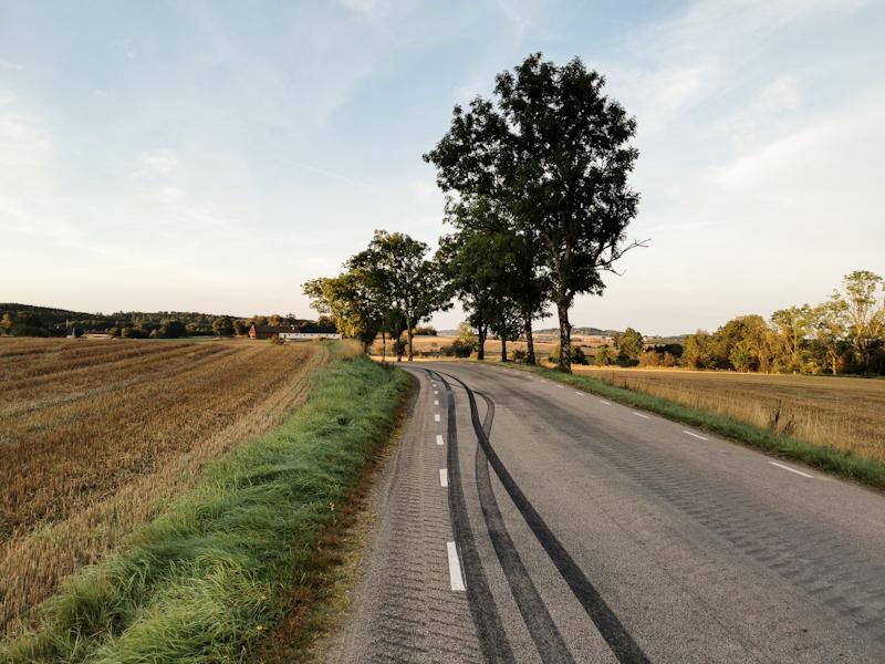 Quiet back roads