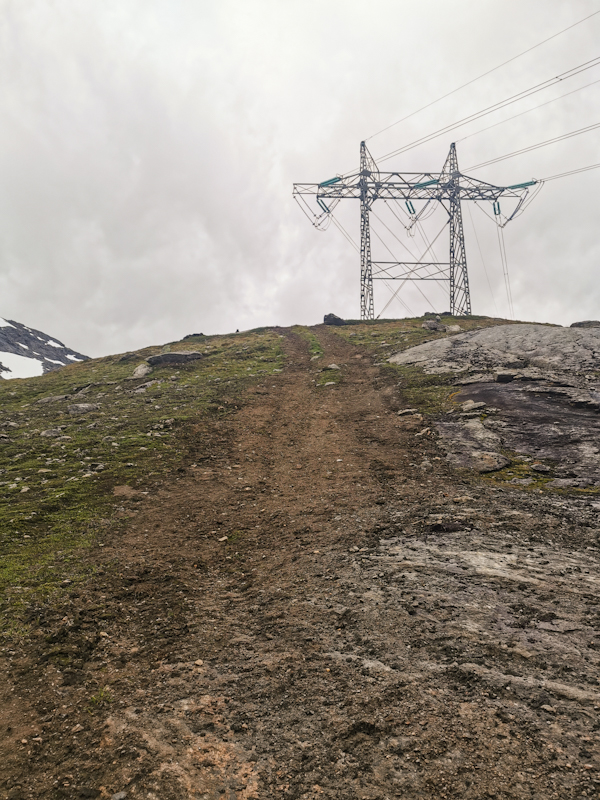 It's steep