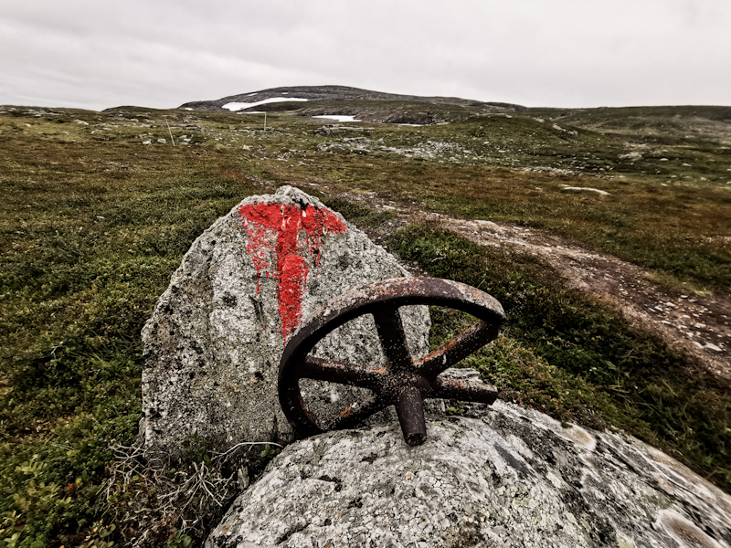 Many disused mines in this part of Norway
