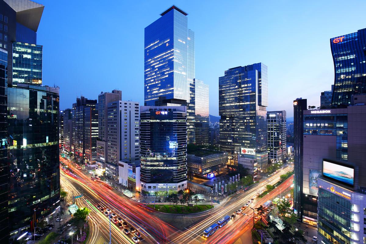 Gangnam Intersection, Seoul, South Korea (B1)
