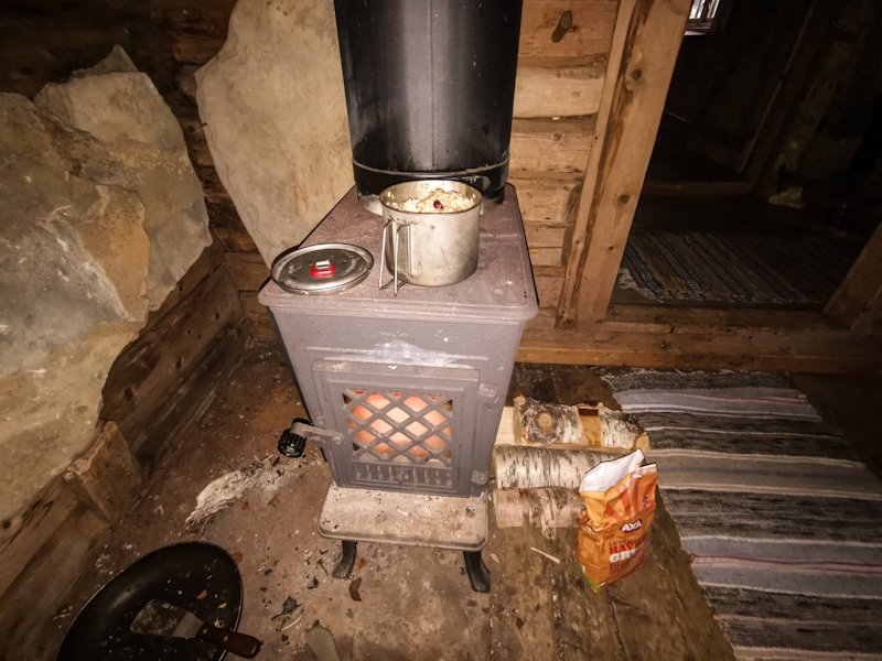 In-room stove