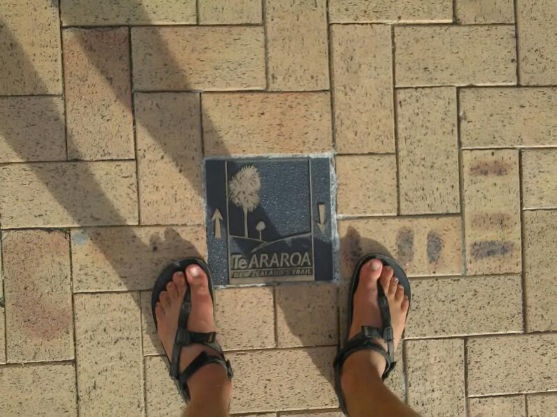 On the promenade...