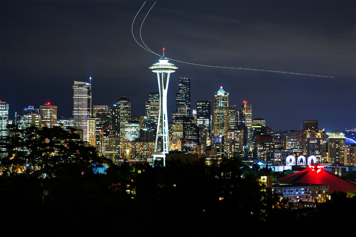 Space Needle, Seattle, Washington, USA