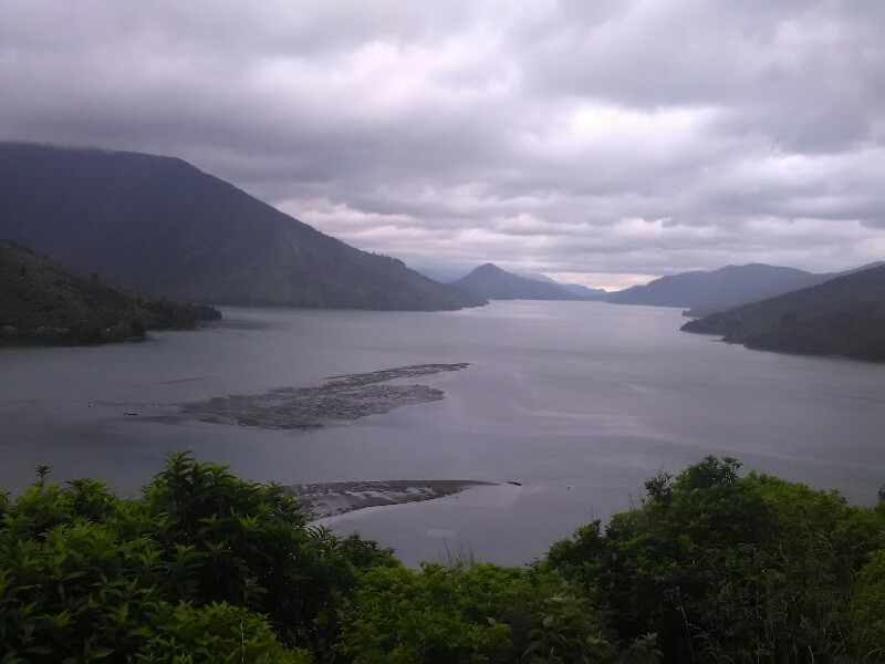Dark clouds looming over Pelorus Sound