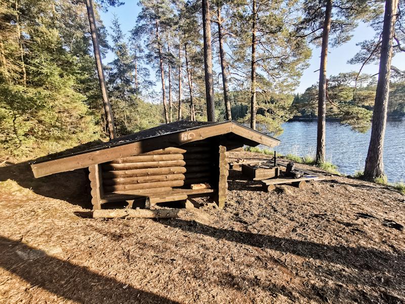 St Härsjön Vindskydd