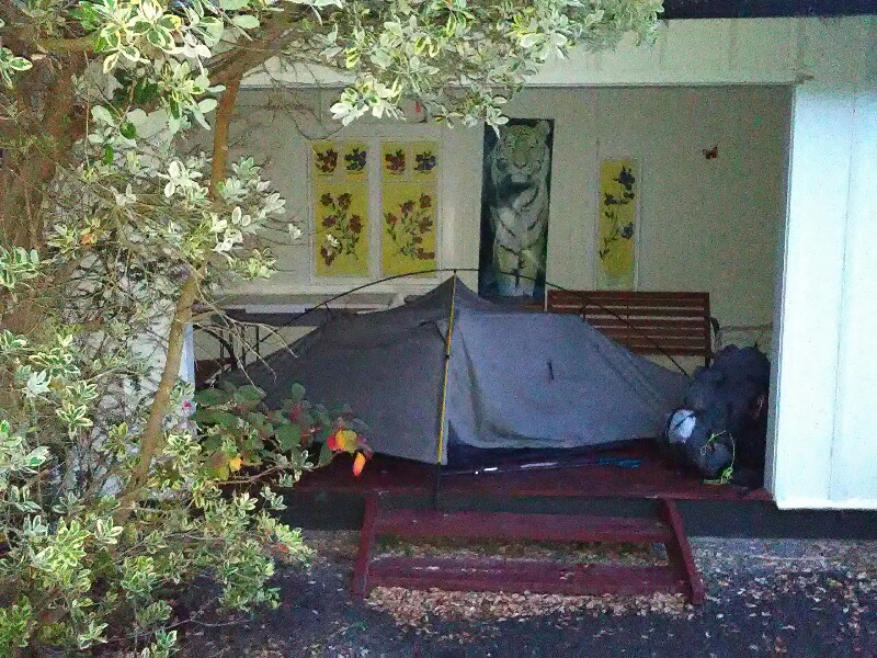 I love my freestanding tent ;)