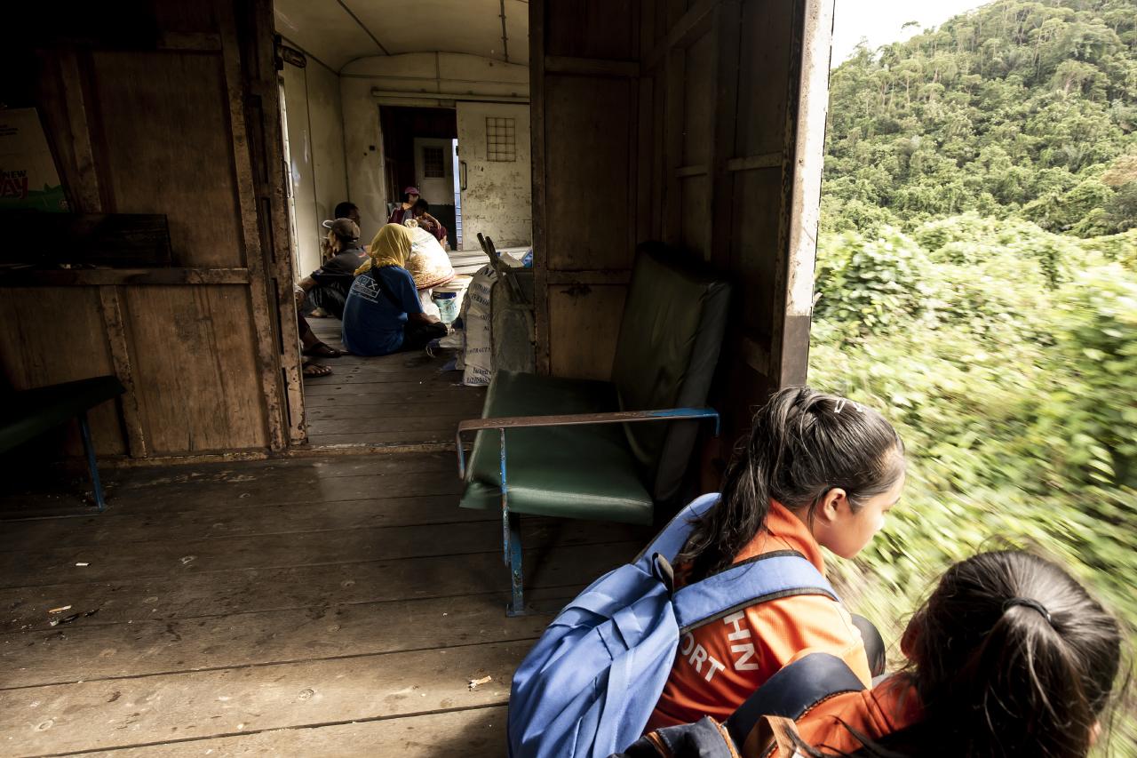 Jungle Train, Borneo