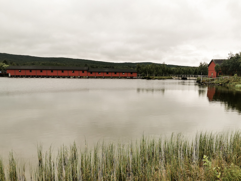 Hydropower station. One of many.