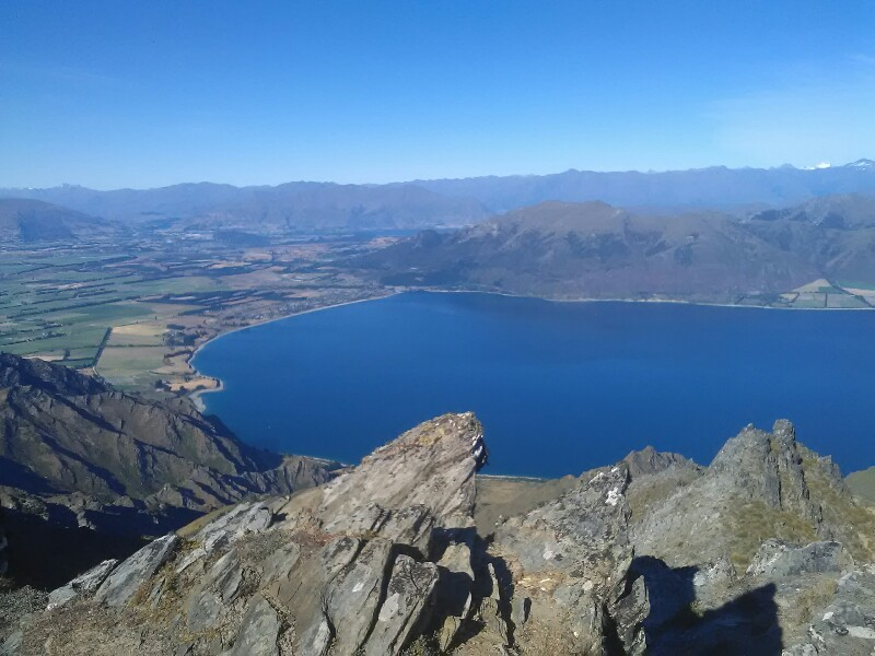 Lake Hawea from Breast Hill