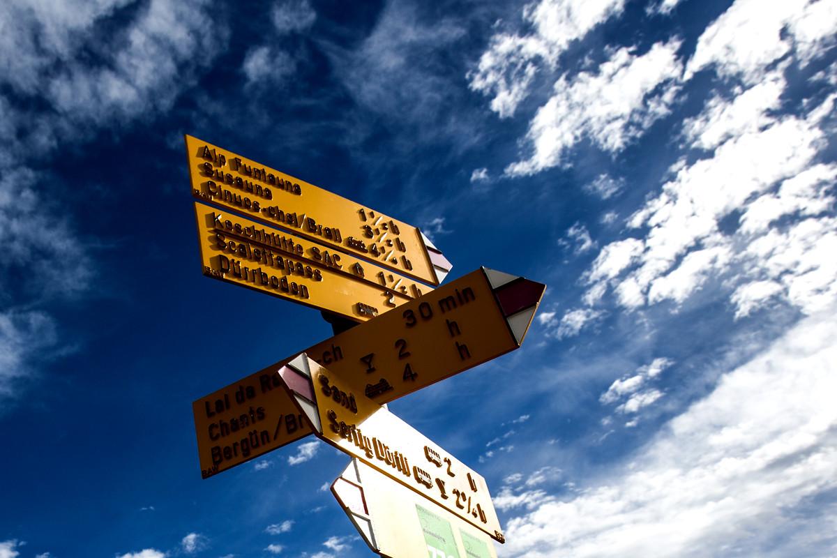 Where to...? Graubünden, Switzerland
