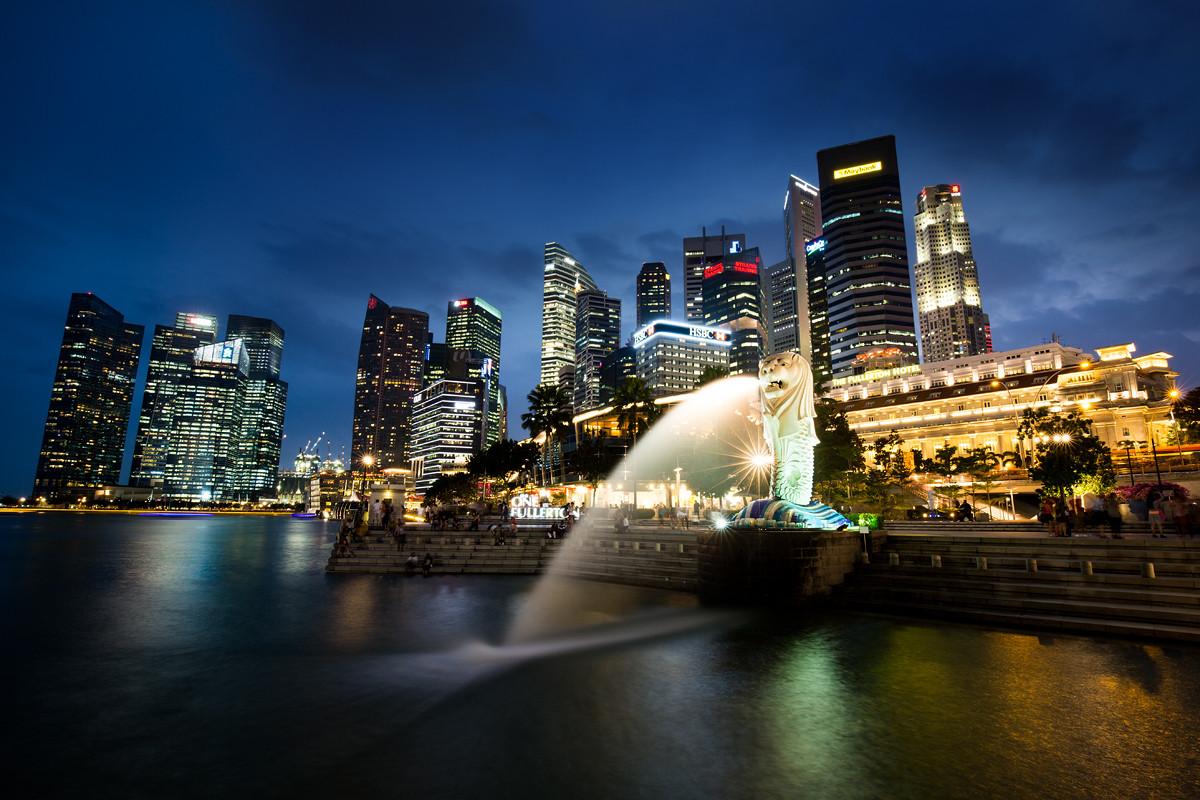 Singapore Bay Skyline, Singapore (B2)