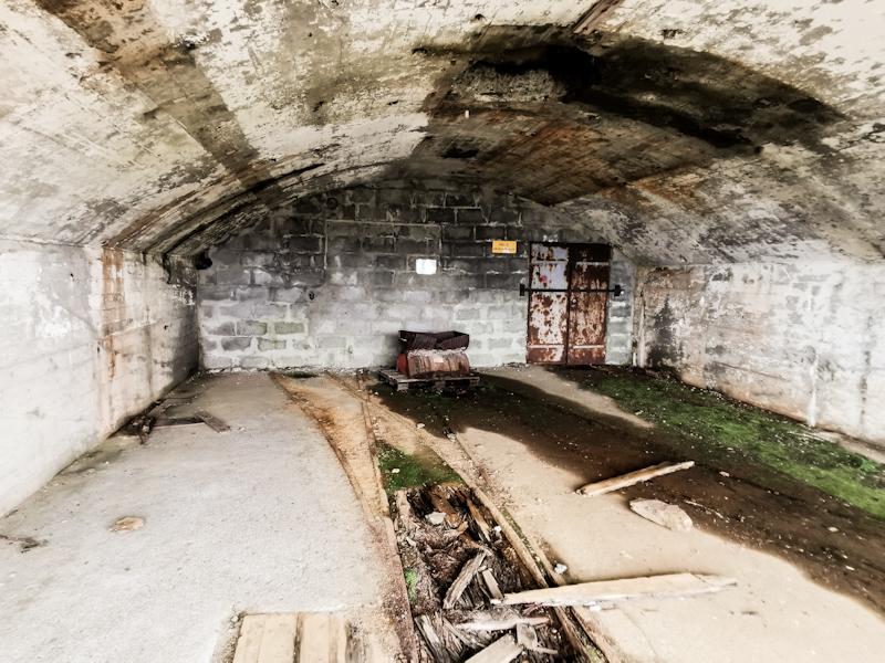 Defunct mine
