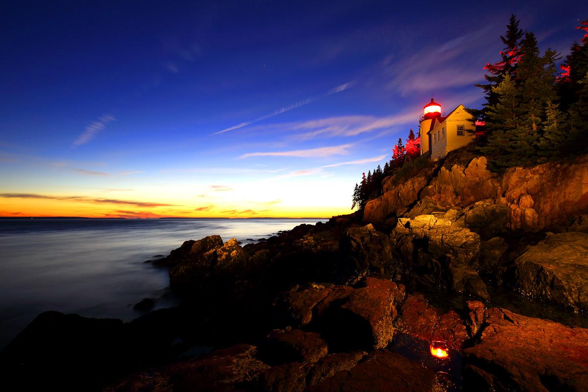 Acadia National Park, Maine, USA  (A18)
