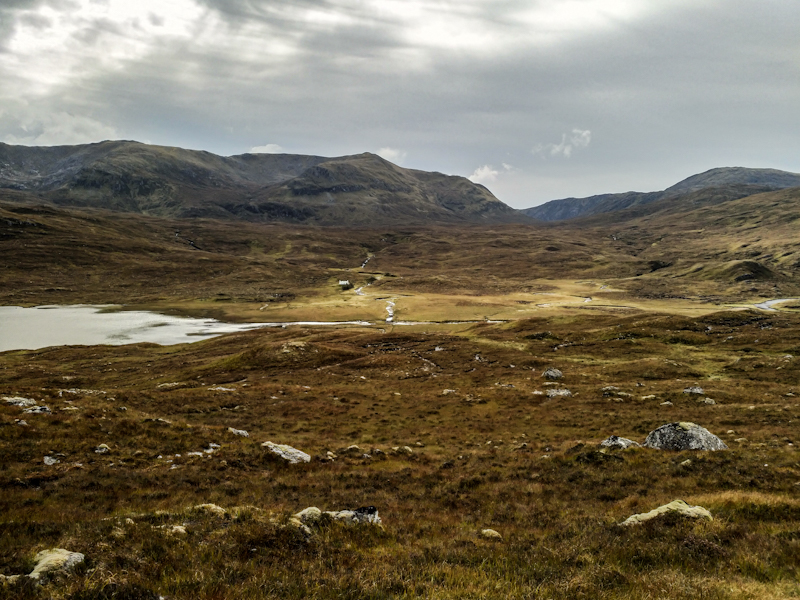 Maol Bothy in the middle of nowhere