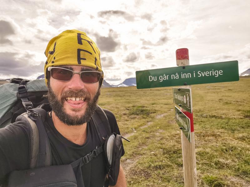 Entering Sweden...