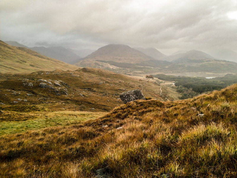 Looking back to Glenfinnan