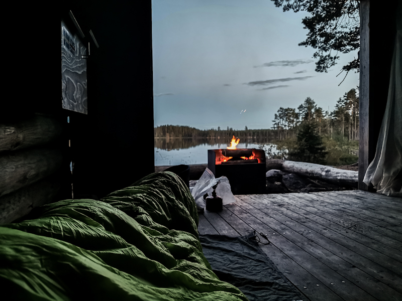 Yesterday's cozy evening