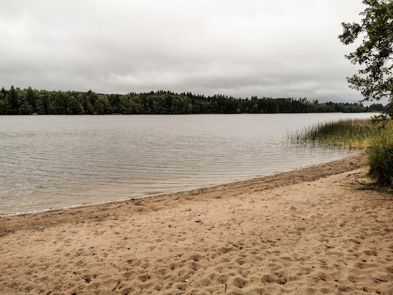 Sandy Beach near Mullsjö