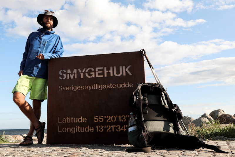 Southernmost point of Sweden