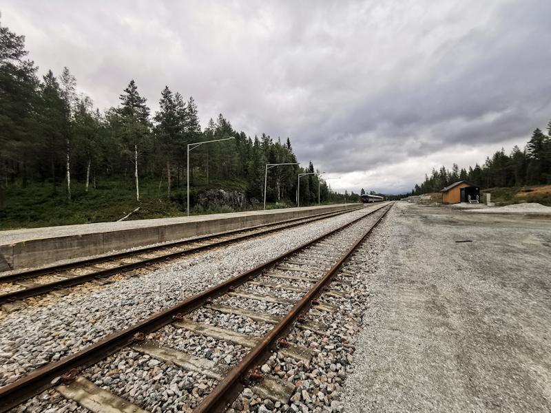 Lost at Lassemoen station