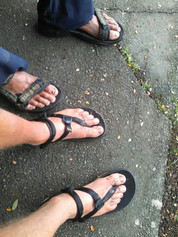 Sandals FTW ;)