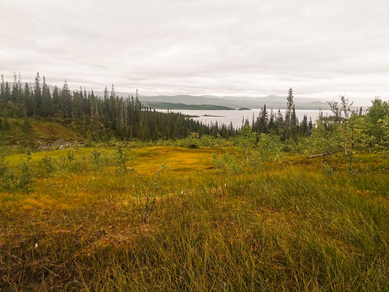 Approaching Namsvatnet