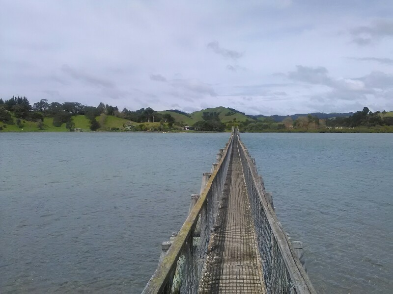 Longest footbridge on southern hemisphere