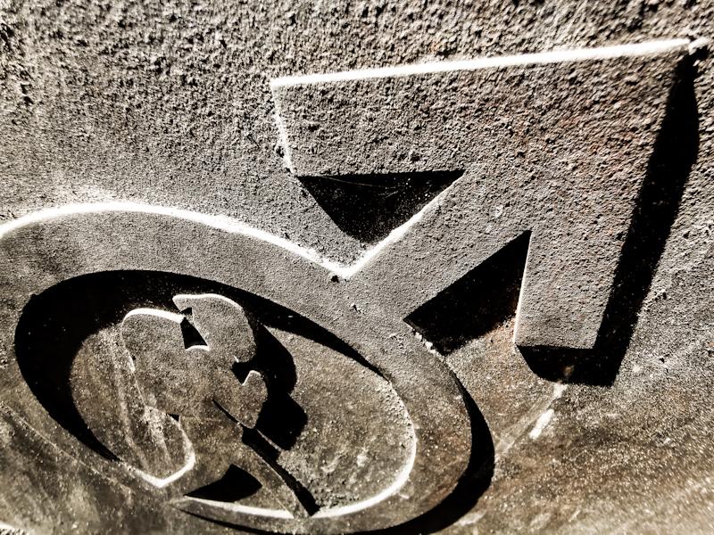 The Bergslagsleden sign