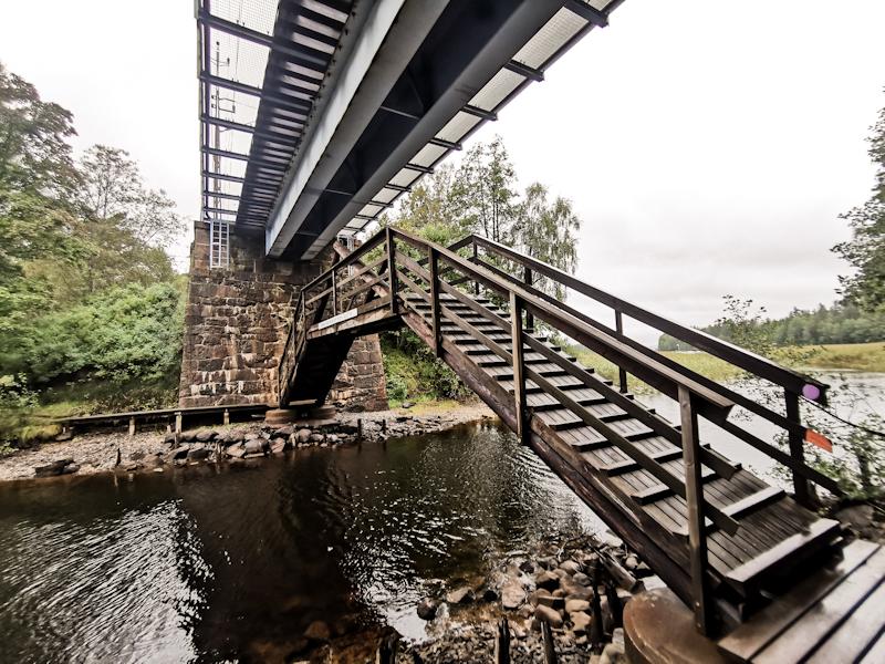 Bridge under a bridge