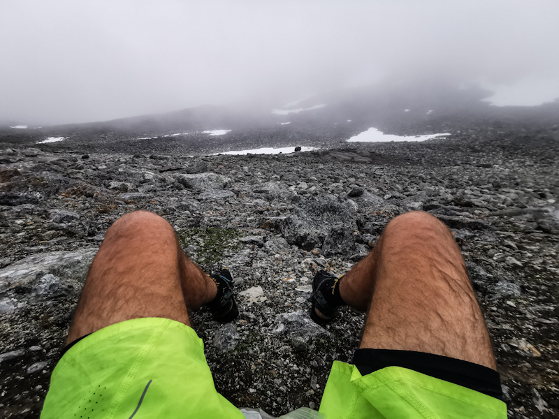 Break on the highest point of E1 in Scandinavia
