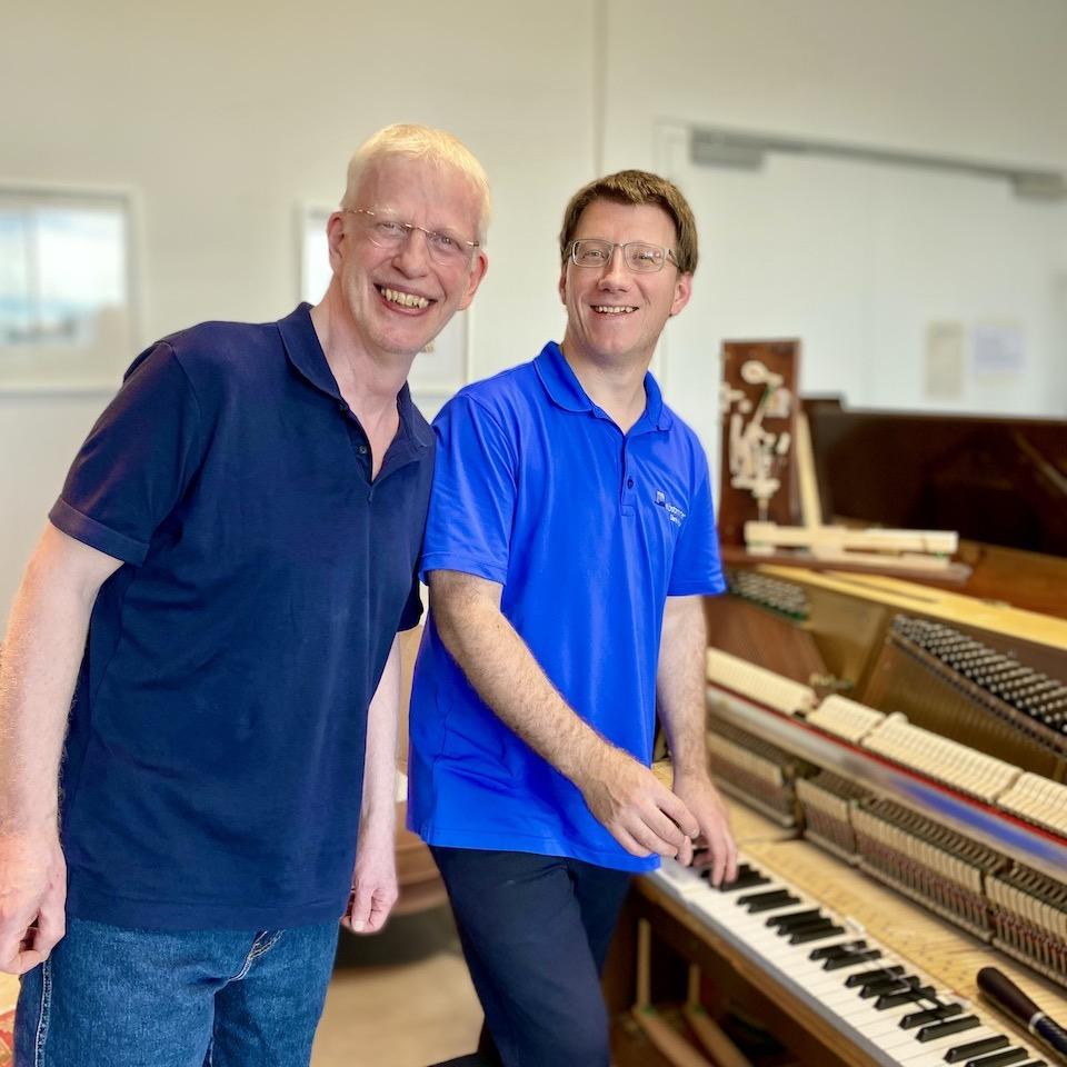 Die Geheimnisse des Intonierens: Besuch von Pianist Joe Dorff