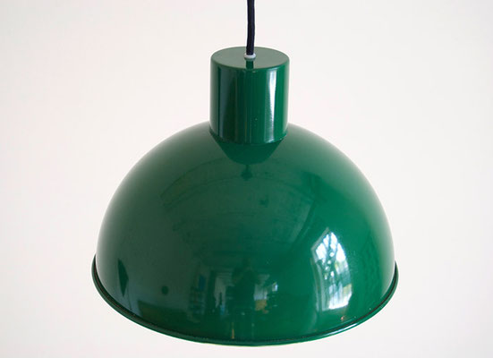Jo Hammerborg Midi Bunker Lamp in green 1970s