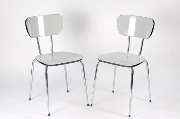 Resopal Stühle 70er Jahre,