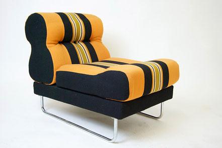 Polstersessel 70er Jahre, Sweden, Lounge Chair,