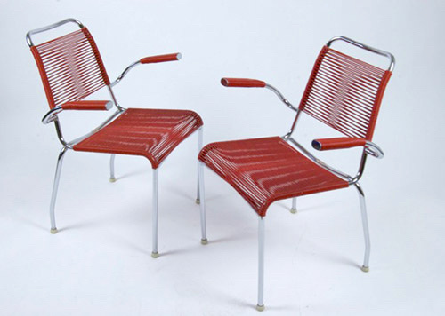 Spaghetti Chair 60er Jahre, String Chair 60s,