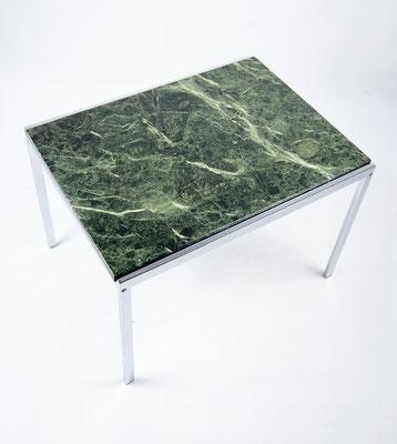 1970s Beistelltisch grüner Marmor