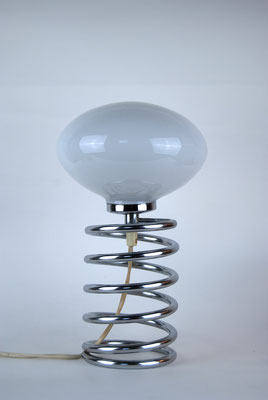 Kleine Honsel Spiral Lampe 1970s