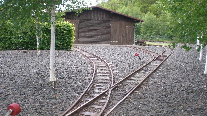Diese Bahn kann man vorbestellen, wenn man einen Ausflug mit der Klasse plant.