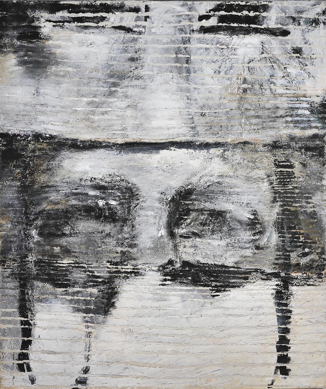 O.T., 2008, Mischtechnik auf Leinwand, 250 x 210 cm